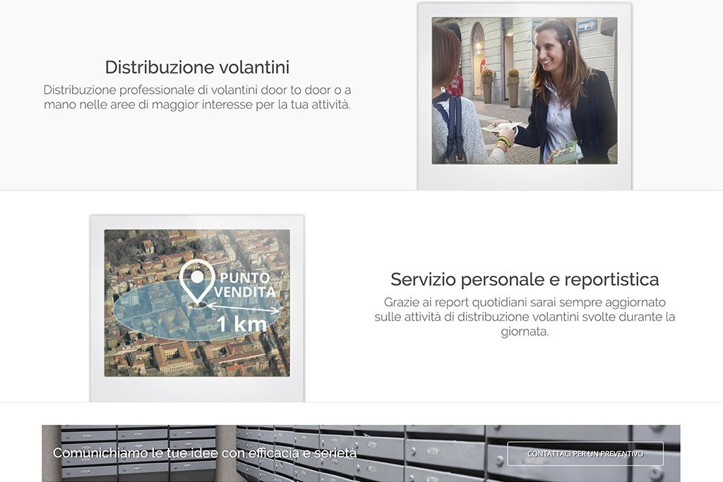 Sito web ideal communication servizi