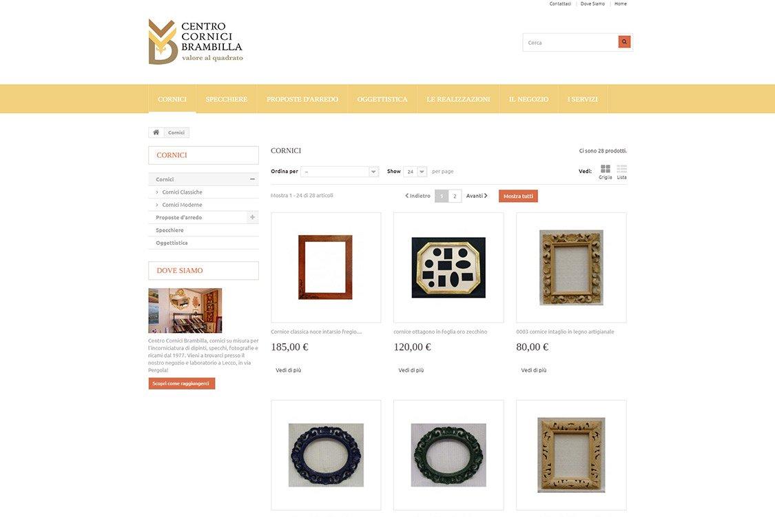 portfolio-trizero-ecommerce_cornici-brambilla_3