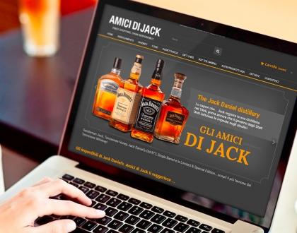 Sito eCommerce amici di jack
