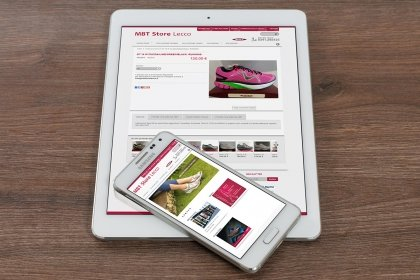 Sito eCommerce MBT store lecco
