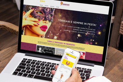 Sito eCommerce Torriani shop