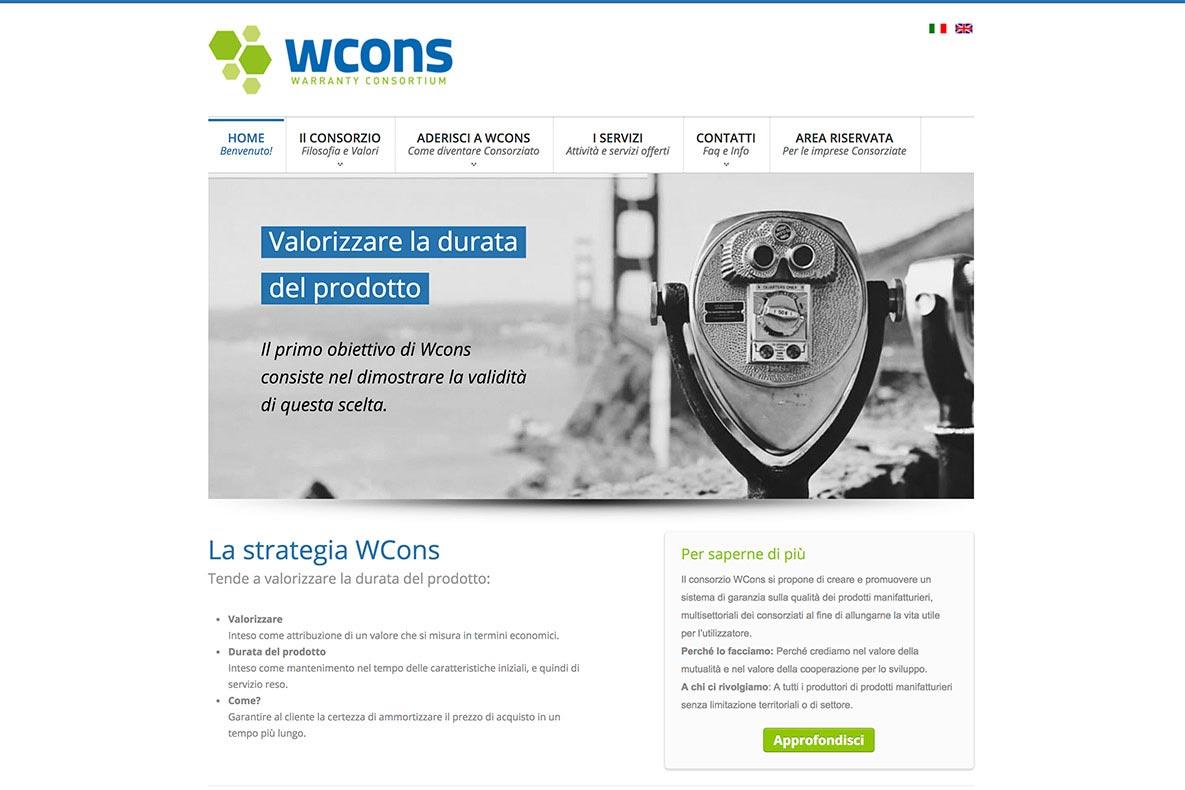 Sito web warranty consortium home page