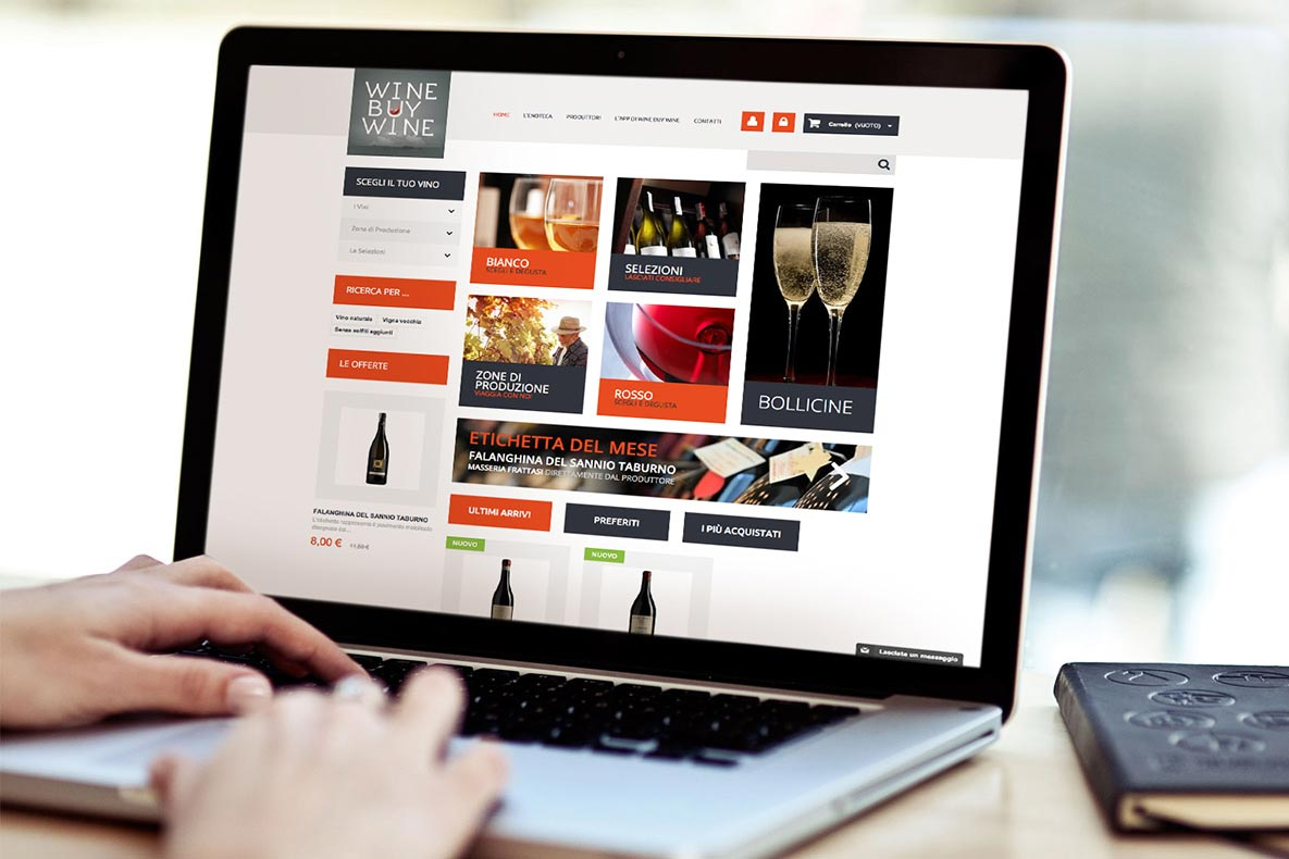 Sito eCommerce wine buy wine