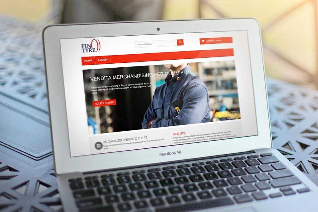 Sito eCommerce Fintyre Merchandising