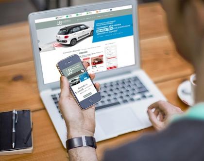 Sito web auto salone brusadelli