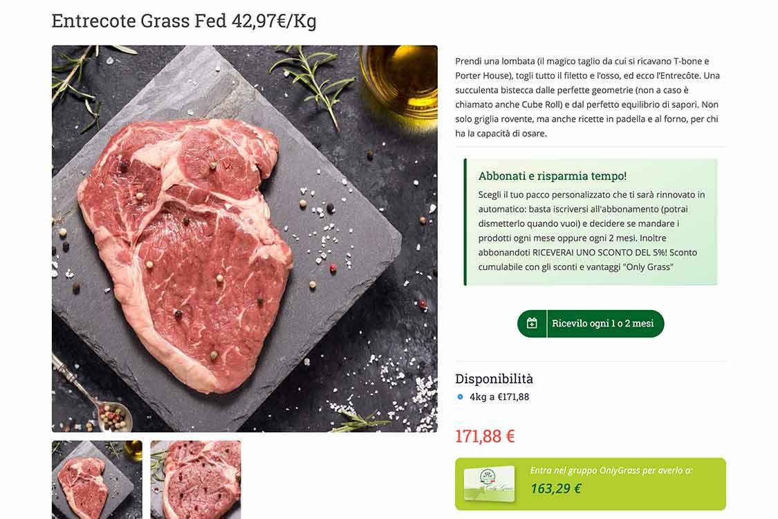 portfolio-ecommerce-carne-grassfed-italia