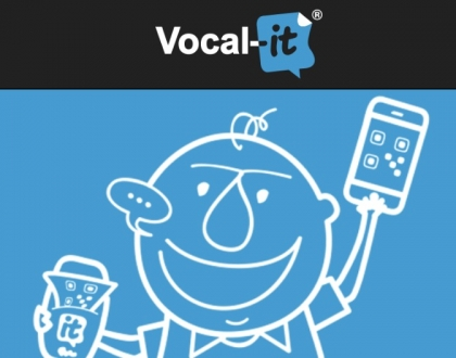 L'app di Vocal-it per i messaggi vocali con QR code si rinnova