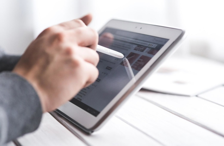 Ergonomia funzionale touch screen