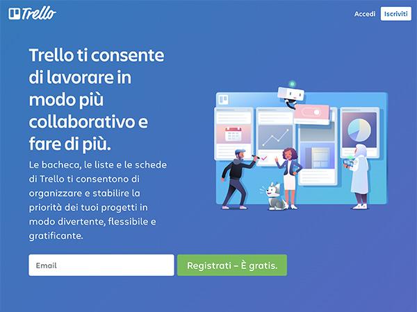 trello - WebApp per la gestione del tuo lavoro