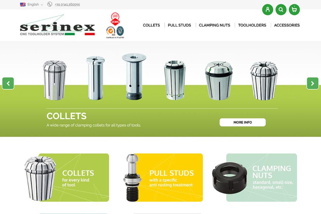 portfolio-ecommerce-serinex-home