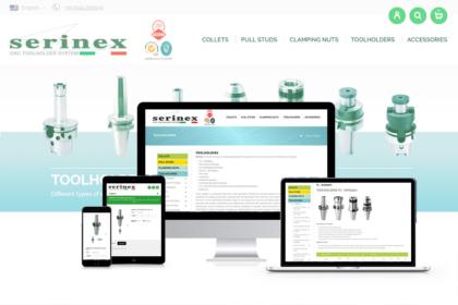 shop serinex ecommerce trizero
